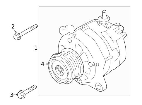 Alternator For 2019 Subaru Ascent