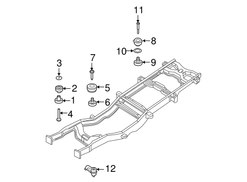 Body/Frame & Components for 2005 Ford F-350 Super Duty #1