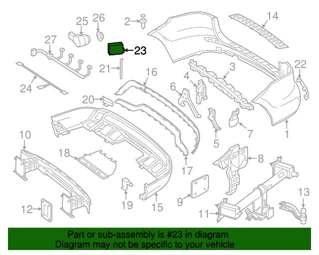 Radar Sensor Mercedes Benz 000 905 25 04 27 Oemercedes