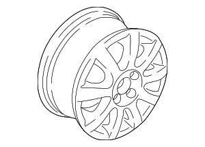 Wheel - Volkswagen (5GM-601-025-N-FZZ)