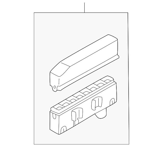 buy this genuine 2006 mitsubishi lancer junction block 8541a267