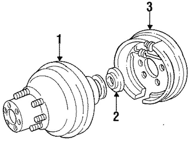 Ford E350 Rear Brake Diagram