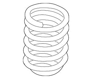Coil Spring - BMW (31-33-6-767-377)