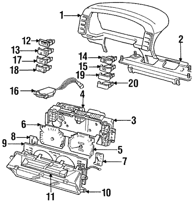 Auto Repair 1995 Land Rover Discovery Speedometer Wiring Diagram