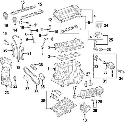 genuine oem mazda engine parts realmazda