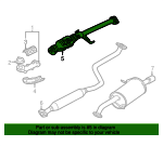 Catalytic Converter - Mazda (FSAG-20-600A)