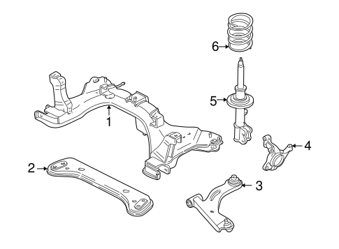 ford f 150 front suspension diagram ford escape front suspension diagram #12