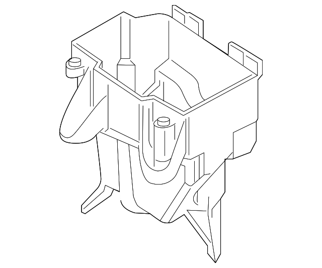 relay box lower cover
