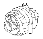 Remanufactured Alternator Assembly