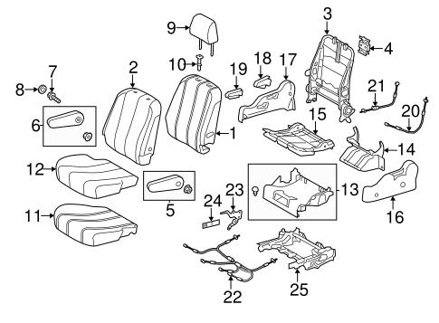 TOYOTA Genuine 71940-45010-B1 Headrest Assembly