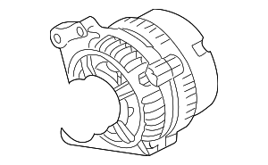 Alternator - Volkswagen (038-903-018-RX)