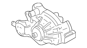 Water Pump - GM (12681417)