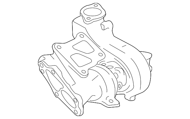 2008 2015 Mitsubishi Lancer Turbocharger 1515a198
