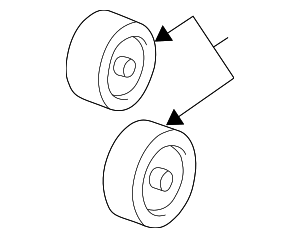 Pulley - GM (24506756)
