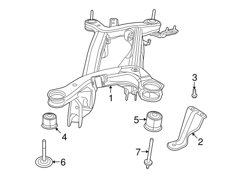 Rear Suspension For 2009 Dodge Journey Quirk Parts