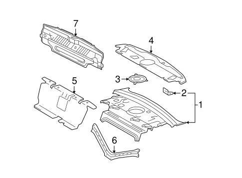 BODY/REAR BODY for 2007 Toyota Avalon #1