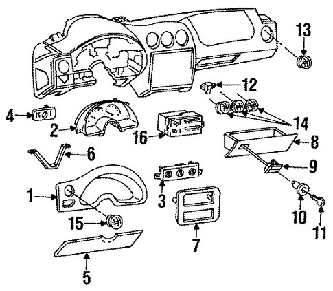 2006 Buick Lacrosse Headlight Assembly Wiring Diagram also Buick Rainer 2005 2006 Fuse Box Diagram moreover 2005 2013 Corvette Gm Techlink Article No Fob Detected Message 9 further Diagrams To Remove 2008 Kia Spectra Driver Door Panel moreover Allume Cigarette. on buick lacrosse control panel