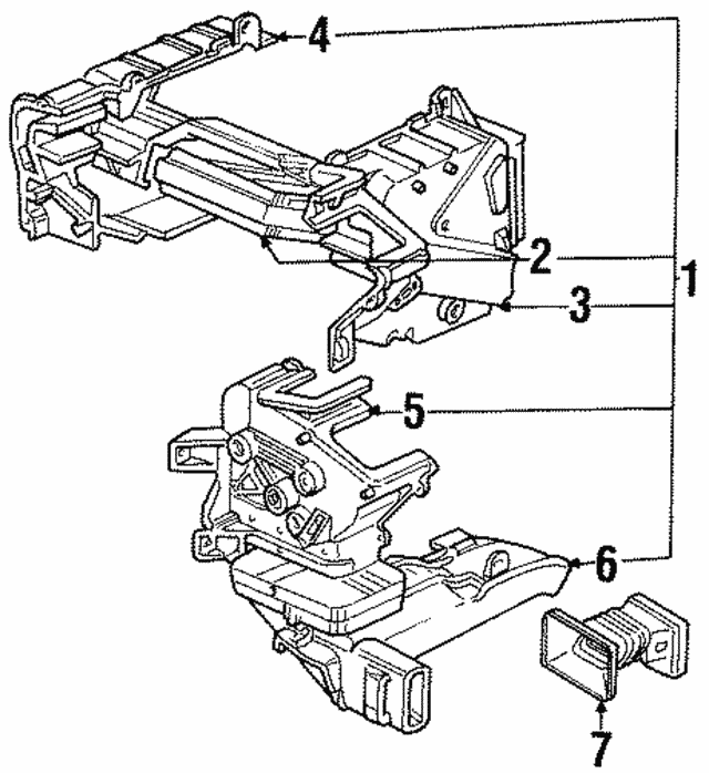 2002 Isuzu Trooper Radiator