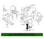 Joint, Front Ball (Lower) - Honda (51220-T6A-305)