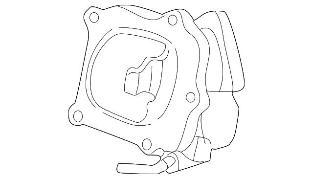 1995 2003 Toyota Egr Cooler 25681 20010