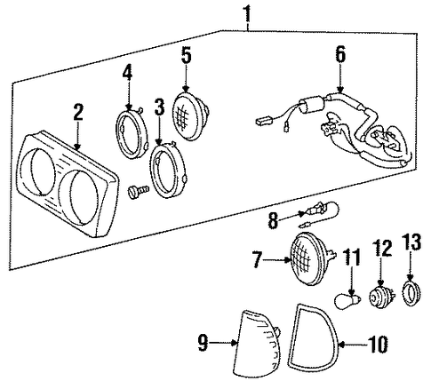 Park & Side Lamp Gasket