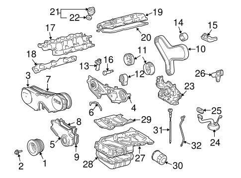 engine parts for 2006 toyota highlander toyota parts. Black Bedroom Furniture Sets. Home Design Ideas