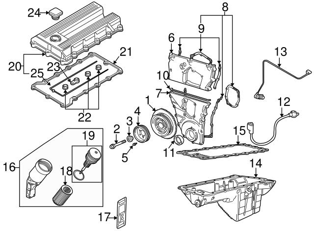 BMW 11-12-1-721-475 PROFILE-GASKET:H11120