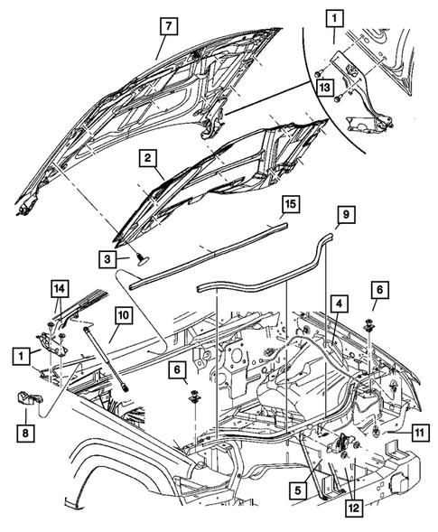 2009 jeep grand cherokee engine diagram hood and hood release for 2009 jeep grand cherokee thomas dodge  2009 jeep grand cherokee