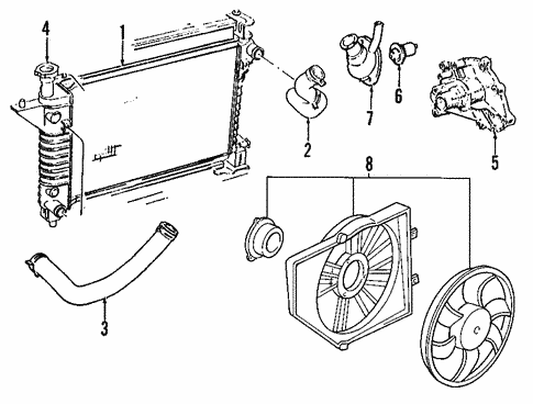 2006 Mustang Cooling System Diagram