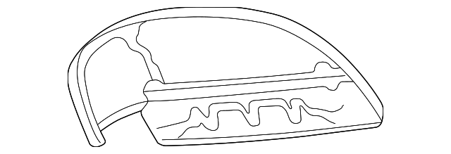 Genuine Oem 1999 2004 Chrysler 300m Air Deflector 4805052