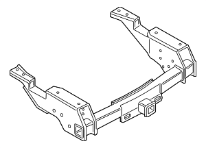 Hitch Assembly - Trailer Tow - Ford (LC3Z-17D826-A)