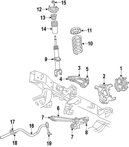 Dodge Dakota Suspension Parts