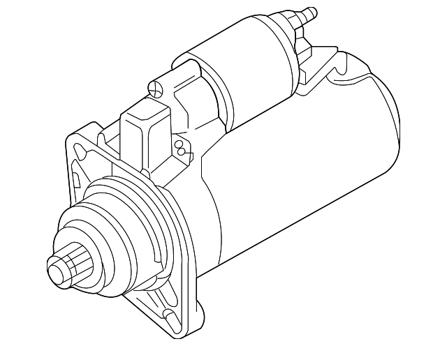 Volkswagen Starter 02m 911 021 H