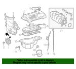 Genuine Toyota Rear Main Seal 90080-31050