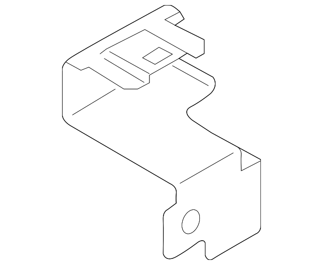 fuse  u0026 relay box bracket 19316385