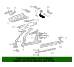 Seat Support - Mercedes-Benz (210-610-07-20)