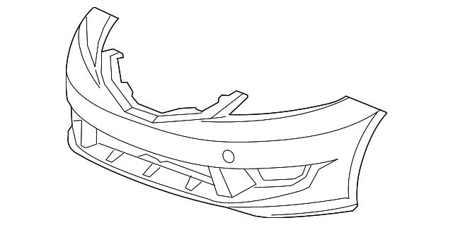 Genuine Honda 71121-TK6-A11 Grille Base