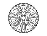 Wheel, Disc Chrome P - Lexus (4261A-50162)
