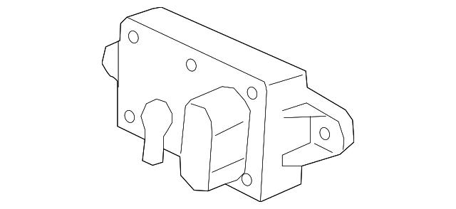 Genuine Ford Pressure Feedback Sensor F77z 9j460 Ab