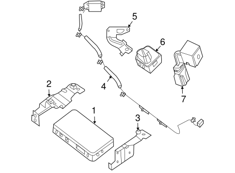 Communication System Components For 2010 Nissan Altima