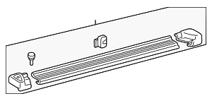 Running Board - Toyota (51084-35130-B1)