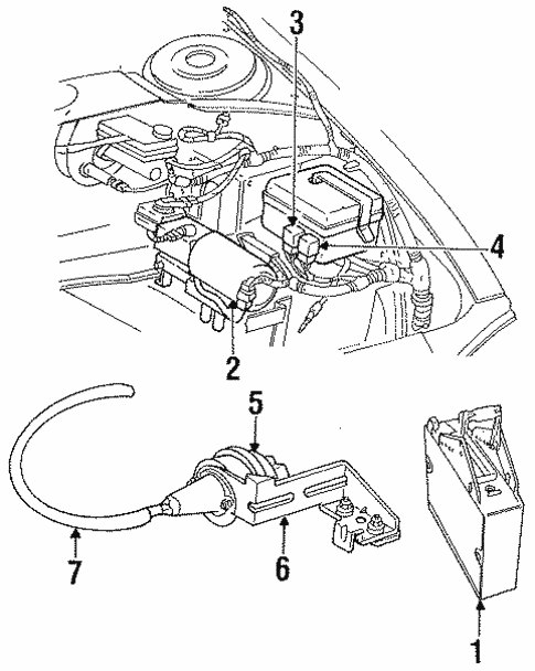Abs Components For 1997 Dodge Intrepid