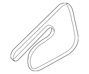 Serpentine Belt - GM (55350419)