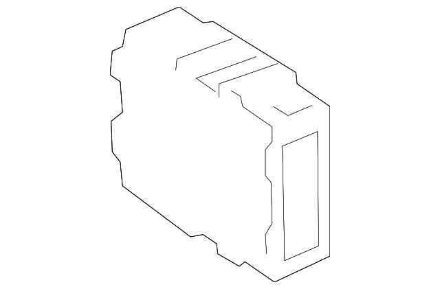 2017 toyota prius v computer 89535