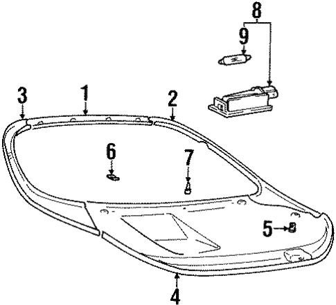 Genuine Hyundai 82720-33000-AQ Door Grip Handle Assembly Right