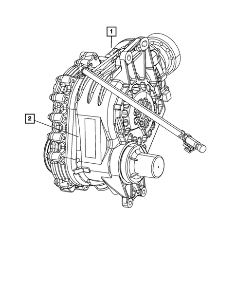 Transfer Case Assembly for 2016 Dodge Journey #0