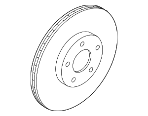 Rotor - Ford (GN1Z-1125-C)