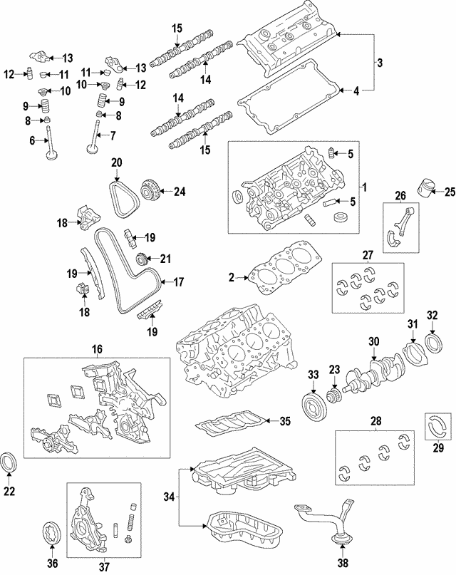 bearing - lexus (11701-31100-e5)