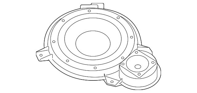 Pkg Tray Speaker Nissan 28138et200: 2012 Nissan An Speaker Diagram At Sergidarder.com