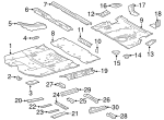 Seat Reinforced - Toyota (57835-0E020)